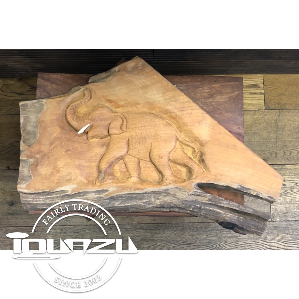Full Elephant Plaque - Fairtrade gifts from Iguazu