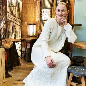 Women's 100% Double Cotton Clothing